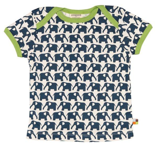 Loud + Proud T-Shirt Elephant Marine