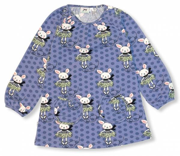 JNY colourful Kids Tunic LS Skating Bunny