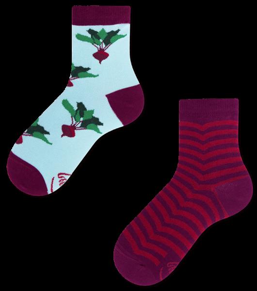 Many Mornings Beetroots Socks