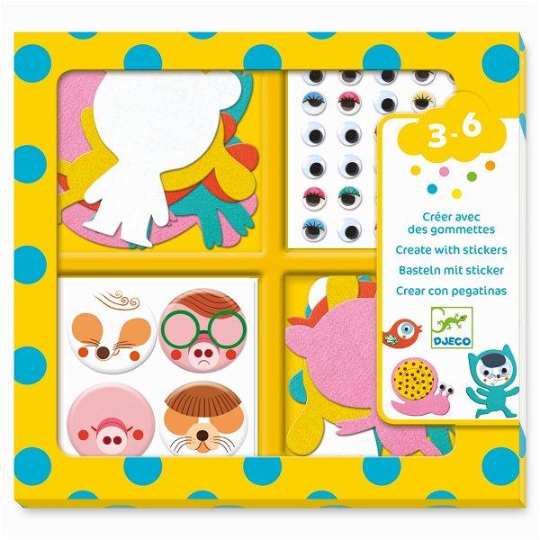 Djeco Sticker - I Love Animals