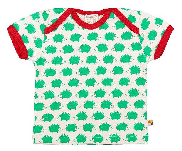 Loud + Proud T-Shirt Hedgehog Verde