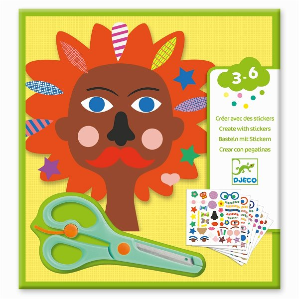Djeco Sticker - Frisuren