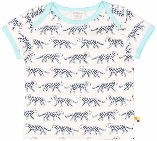 Loud + Proud T-Shirt Leopard Ultramarine
