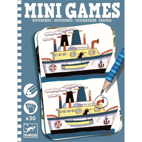 Djeco Mini Games Unterschiede RŽémi