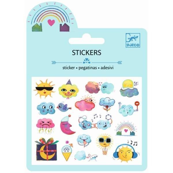 Djeco Mini Sticker Wetter