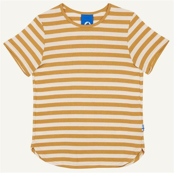 Finkid T-Shirt Maalari, golden yellow/offwhite