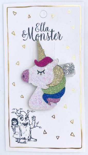 Ella & Monster Disco Unicorn Haarspangen
