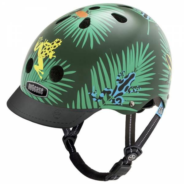 Nutcase Little Nutty Dart Frogs Street Helmet