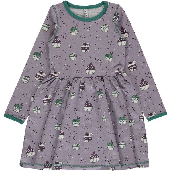 Maxomorra Dress Spin LS Cupcake