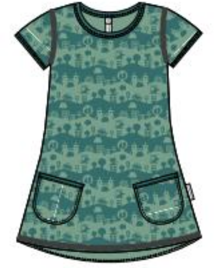 Maxomorra Tunic SS City Landscape
