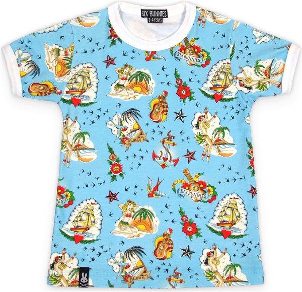 Six Bunnies T-Shirt Aloha