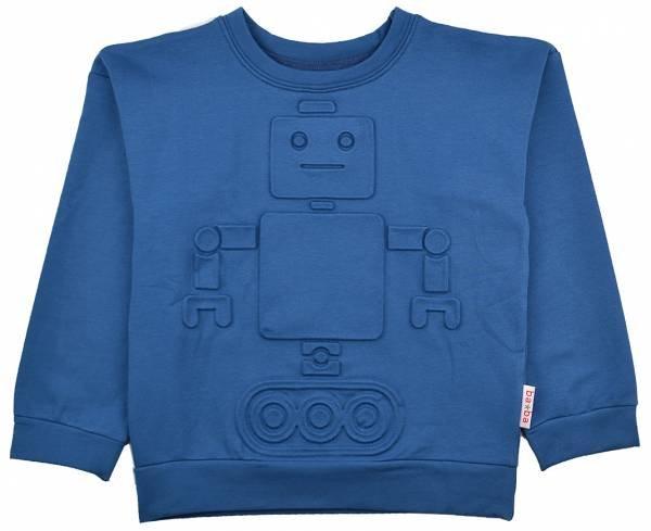 Baba Babywear 3D Sweatshirt Robot Blue