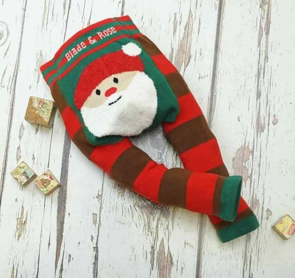 Blade & Rose Santa Fluffy Christmas Leggings