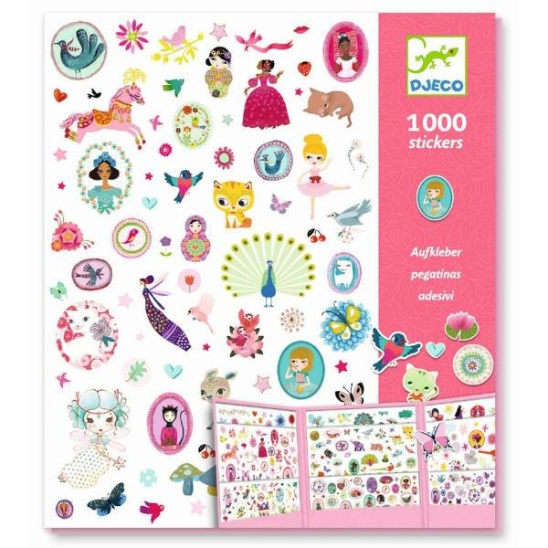 Djeco 1000 Sticker Sweet