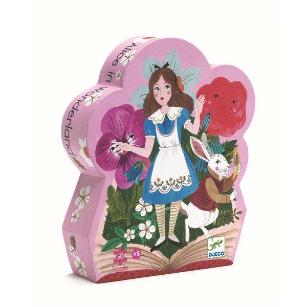 Djeco Silhouette Puzzle Alice im Wunderland 50 Teile