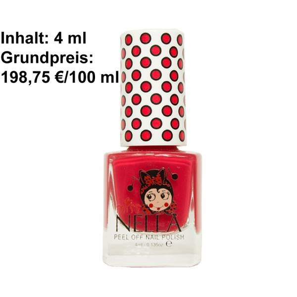 Miss Nella Peel Off Nagellack Strawberry`n Cream