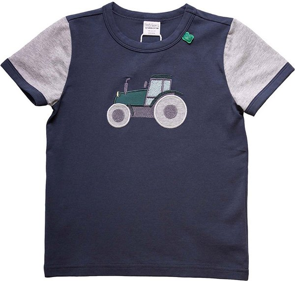 Fred`s World by Green Cotton Farming Front T-Shirt, Midnight