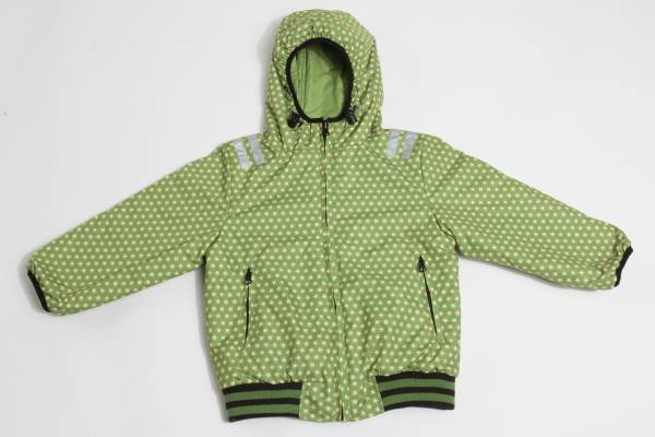 Ducksday Wendejacke Reversible Jacket Funky Green / Lime