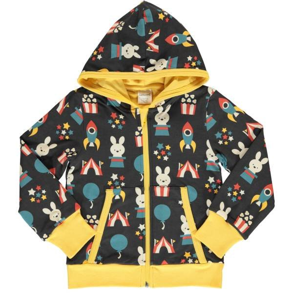 Maxomorra Cardigan Hood Fun Park