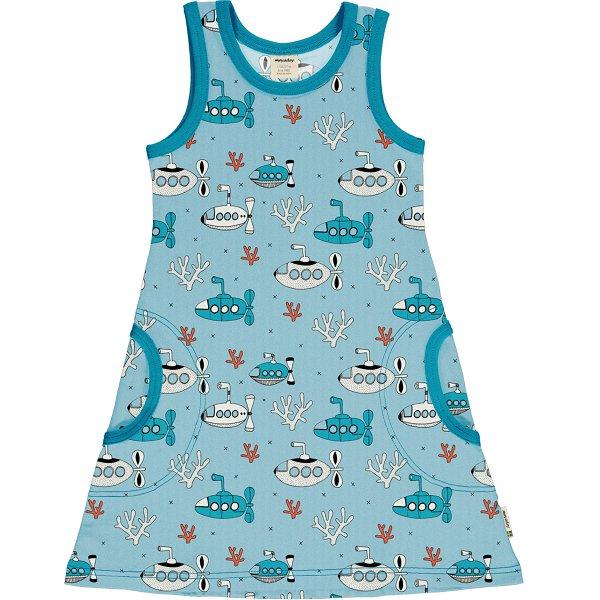Meyadey by Maxomorra Dress NS Submarine Waters