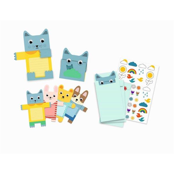 Djeco Geburtstag Einladungskarten Cuddly Toys