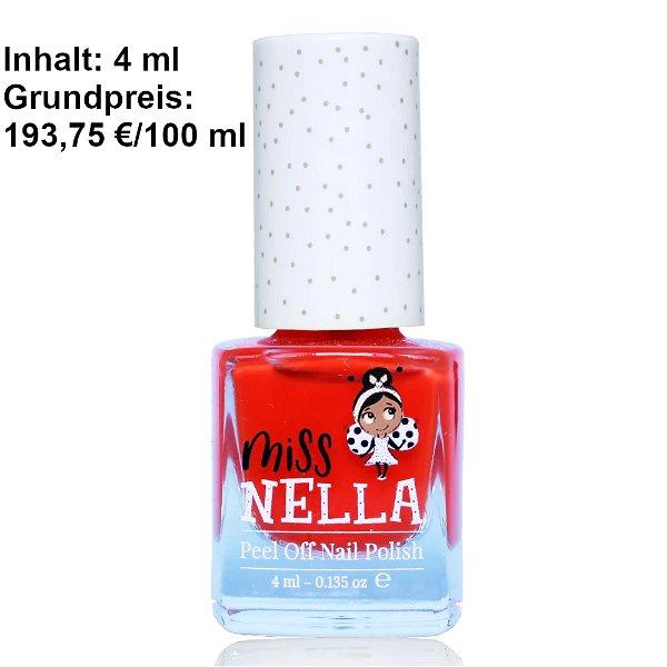 Miss Nella Peel Off Nagellack Strawberry´n´Cream new
