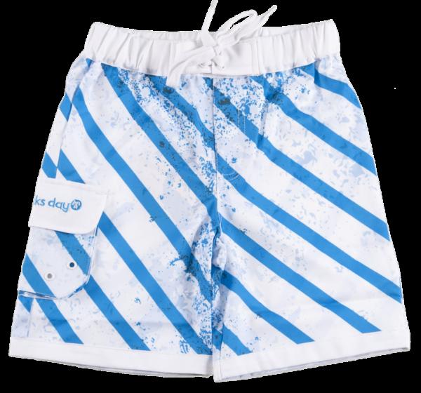 Ducksday UV Badehose Boardshorts Quickdry Stripe
