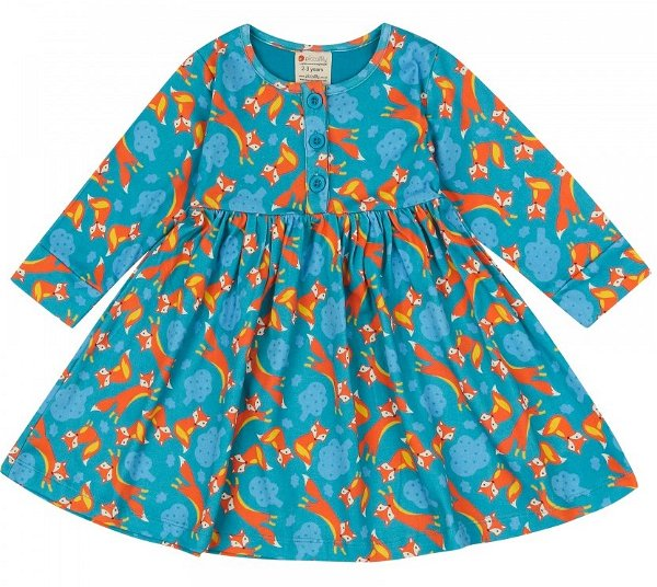 Piccalilly Dress Foxes