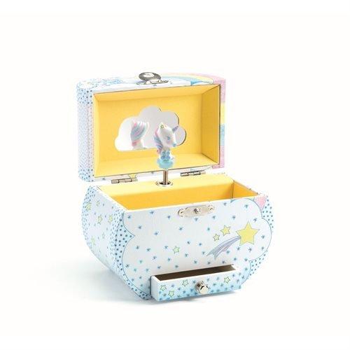 Djeco Music Box Unicorn`s Dream