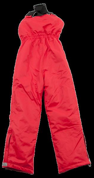 Ducksday Skihose / Schneehose mit Trägern Red