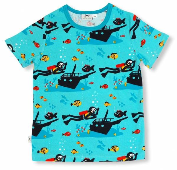 JNY colourful Kids T-Shirt Scuba