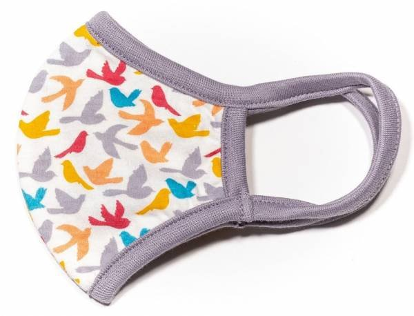 Sense Organics Kinder Maske Birds