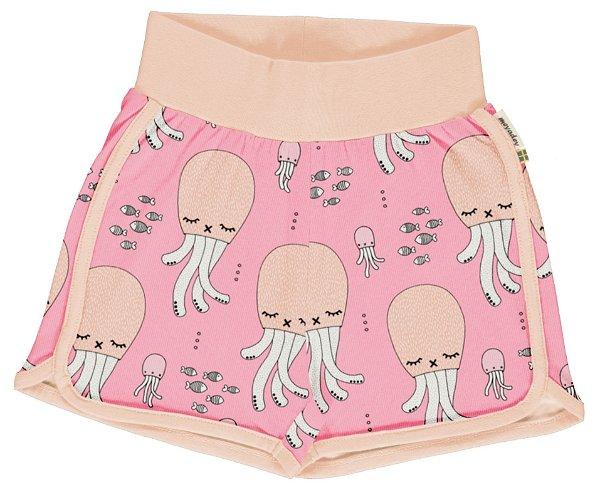 Meyadey by Maxomorra Runner Shorts Cute Squid