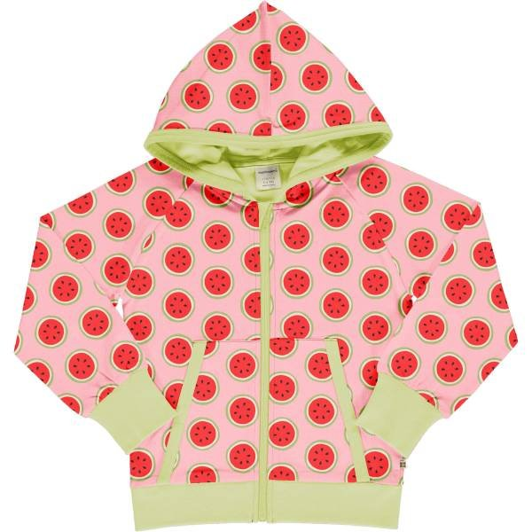Maxomorra Cardigan Hood Watermelon