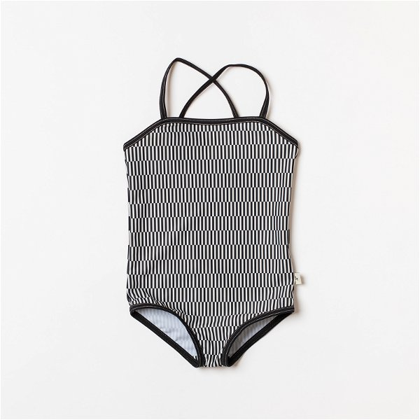 Albababy Grazia UV50+ Swim Suit Antique White Striped Split