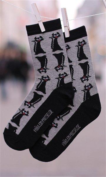 Fräulein Prusselise Socken Miezekatze