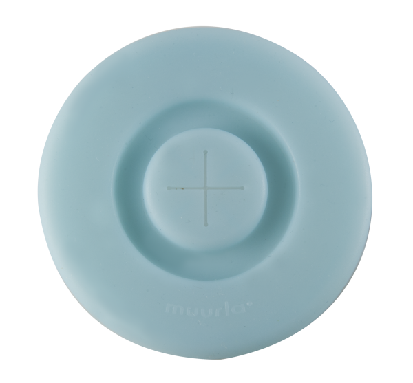 Muurla Silikon Deckel Light Blue