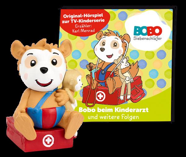 Tonies Bobo Siebenschläfer Bobo beim Kinderarzt und weitere Folgen