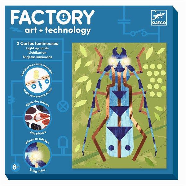 Djeco Factory - Bilder zum Beleuchten - Insektarium
