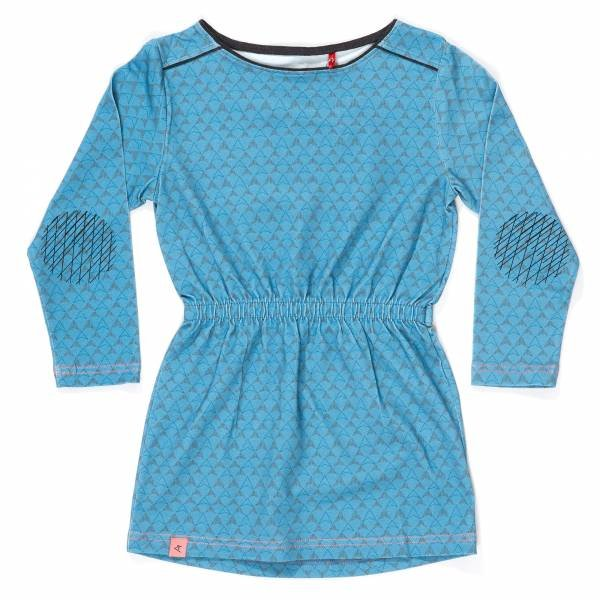 Albababy Hilda Dress Provincial Blue Boomerang