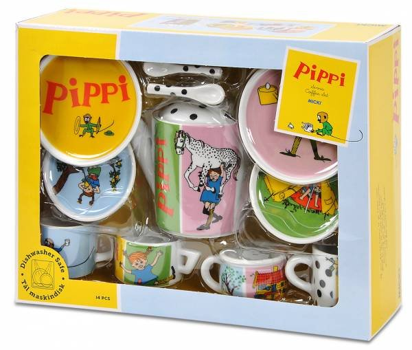 MICKI Teeservice Pippi Langstrumpf