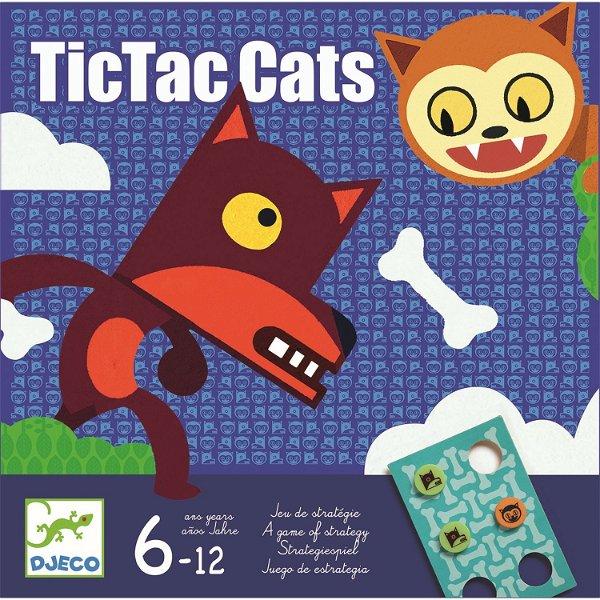 Djeco Knobelspiel Tictac Cats
