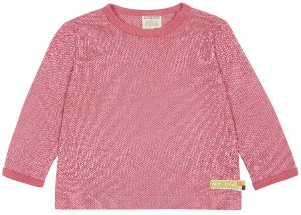 Loud + Proud Shirt LS Melange Strick Mauve