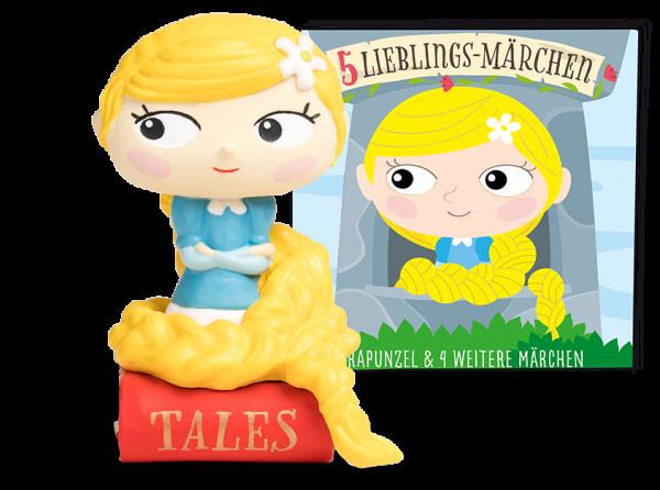 Tonies 5 Lieblings-Märchen - Rapunzel und 4 weitere Märchen