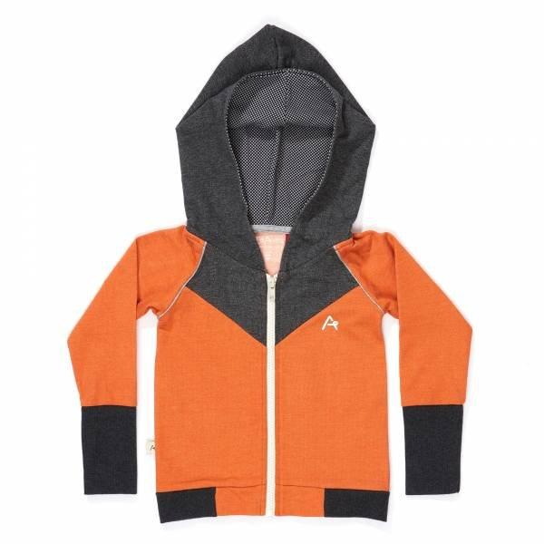 Albababy Haldor Zipper Hood Rust