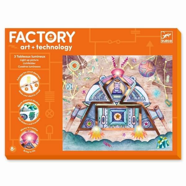 Djeco Factory - Bilder zum Beleuchten - Odyssee
