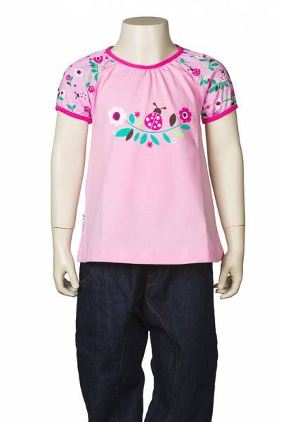JNY colourful kids Puffyshirt Ladybug