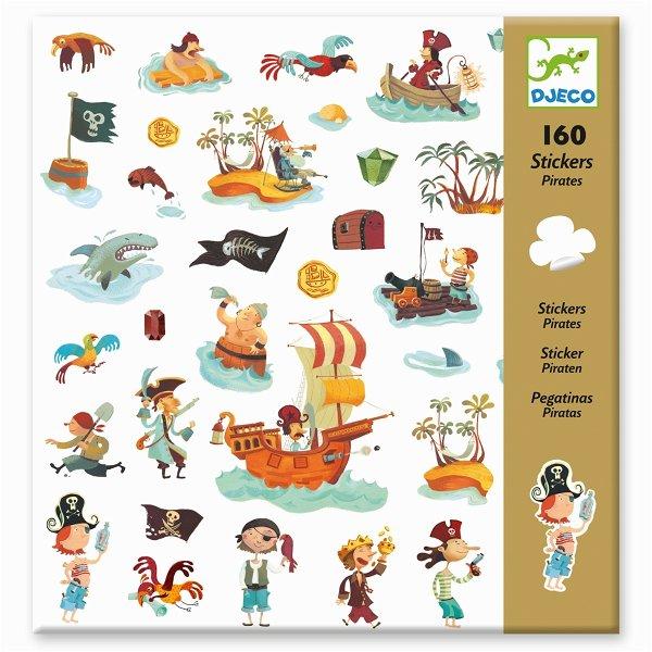 Djeco Sticker: Piraten