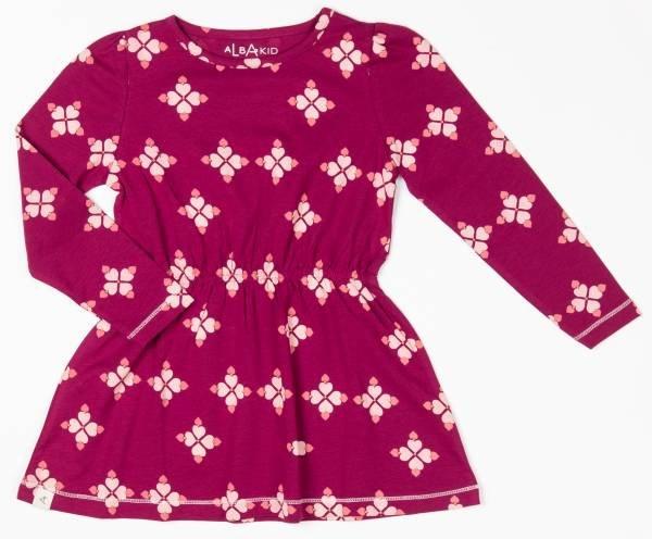 Albababy Dawn Dress Raspberry Radiance