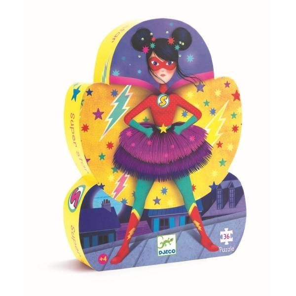 Djeco Puzzle Super Star 36 Teile